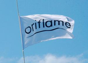 Становление Oriflame - стяг орифлейм