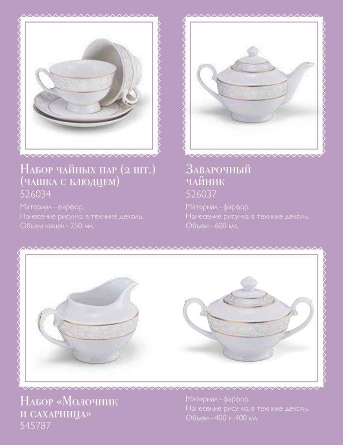 Акция лояльности Чайная классика Посуда