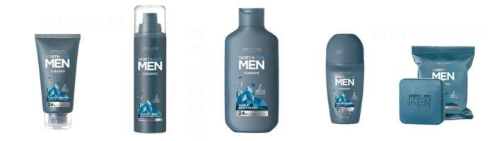 Новинки Oriflame 2020 North For Men Subzero