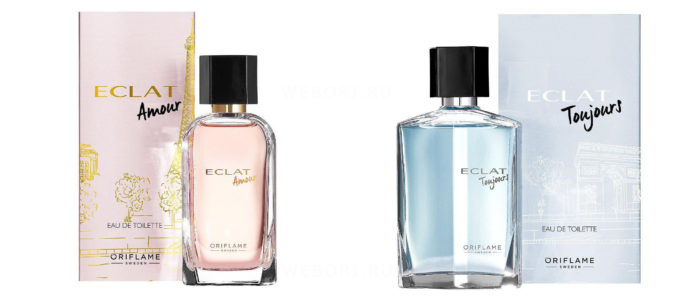 Новинки Орифлэйм 2020 - Парные ароматы Eclat