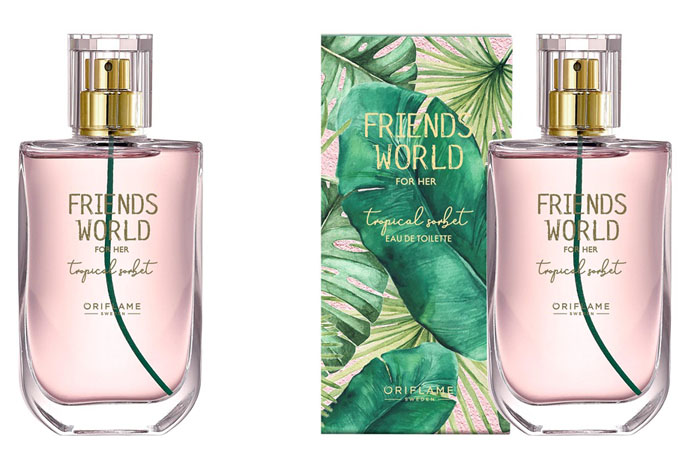 Туалетная вода Friends World for Her Tropical Sorbet